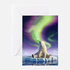 Arctic Kiss 1 Greeting Card