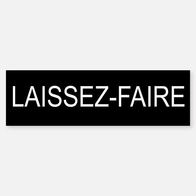 Laissez Faire Stickers Laissez Faire Sticker Designs