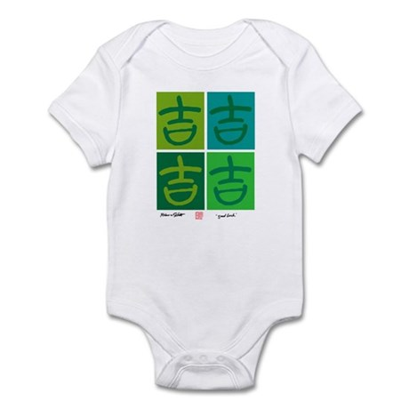 good luck Infant Bodysuit