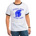 Forks High Spartans Ringer T