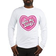 I Love My Zeidy Long Sleeve T-Shirt