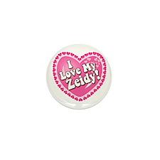 I Love My Zeidy Mini Button