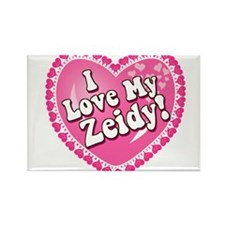 I Love My Zeidy Rectangle Magnet