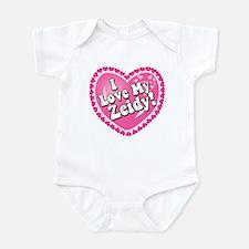 I Love My Zeidy Infant Bodysuit
