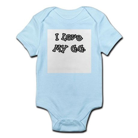 I Love My G.G. Infant Bodysuit