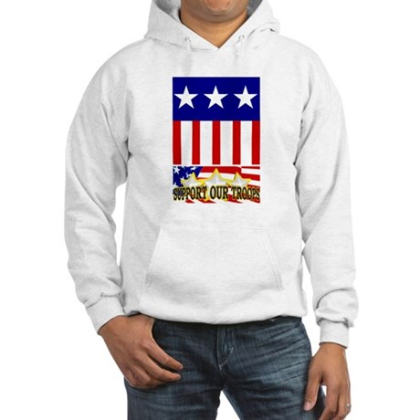 Support Our Troops! Hooded Sweatshirt