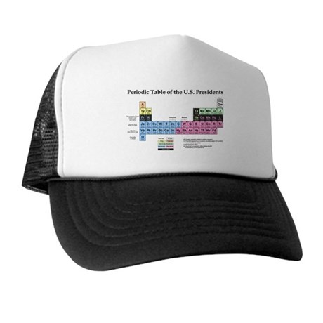 Trucker Hat - Periodic Table of the US Presidents