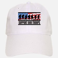 Support Our Troops! Baseball Baseball Cap