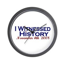 Witness History (Obama Wins) Wall Clock