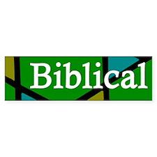 Biblical Literalism Obscures... Sticker 1 of 5