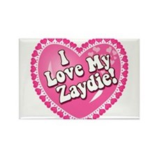 I Love My Zaydie Rectangle Magnet
