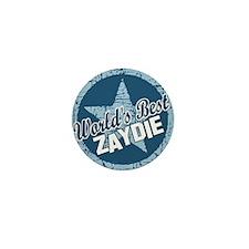 Worlds Best Zaydie Mini Button