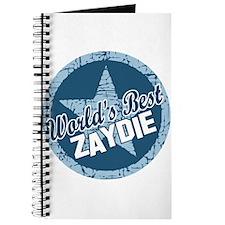 Worlds Best Zaydie Journal