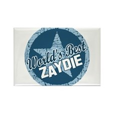 Worlds Best Zaydie Rectangle Magnet