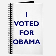 I Voted for Obama Journal