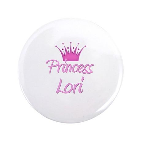 """Princess Lori 3.5"""" Button"""