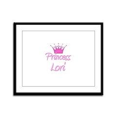 Princess Lori Framed Panel Print