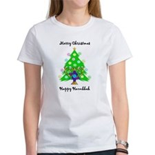 Hanukkah and Christmas Interfaith Tee