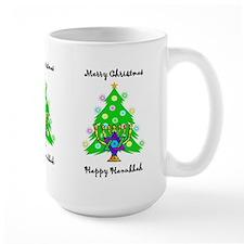 Hanukkah and Christmas Interfaith Mug