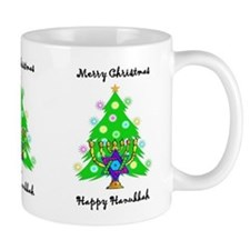 Hanukkah and Christmas Interfaith Mug