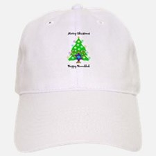 Hanukkah and Christmas Interfaith Baseball Baseball Cap