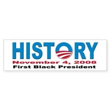 President Obama inauguration Bumper Bumper Sticker