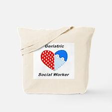 Geriatric Social Worker Tote Bag