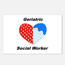 Geriatric Social Worker Postcards (Package of 8)