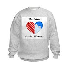 Geriatric Social Worker Sweatshirt
