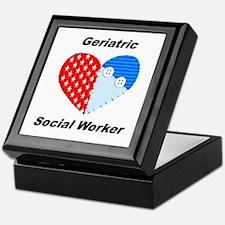 Geriatric Social Worker Keepsake Box