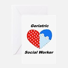 Geriatric Social Worker Greeting Card