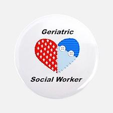 "Geriatric Social Worker 3.5"" Button"