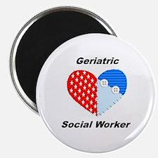 "Geriatric Social Worker 2.25"" Magnet (100 pac"