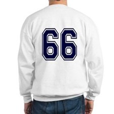 NUMBER 66 BACK Sweatshirt