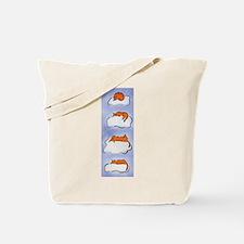 Sleeping Cloud Cats Tote Bag