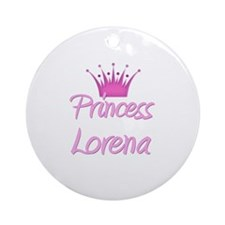 Princess Lorena Ornament (Round)