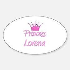 Princess Lorena Oval Decal