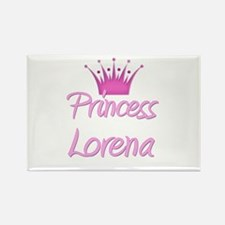 Princess Lorena Rectangle Magnet