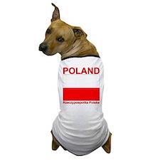 Polish Flag Polska Dog T-Shirt