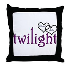 Twilight Couples- Edward/Bell Throw Pillow