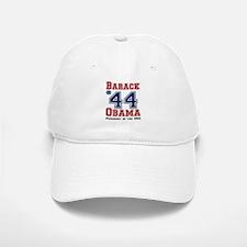 Obama Wins! President #44 Baseball Baseball Cap