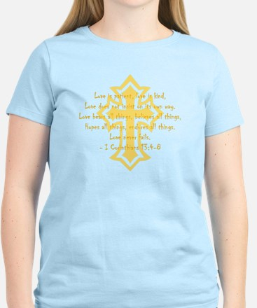 1 corinthians love is patient Women's Light T-Shir