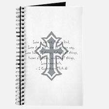 1 corinthians love is patient Journal