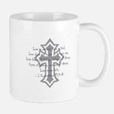 1 corinthians love is patient Mug
