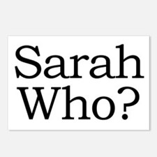 Sarah Who? Postcards (Package of 8)