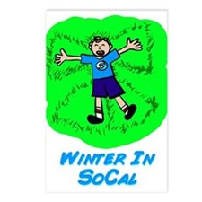 Winter In SoCal Postcards (Package of 8)