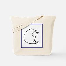 Washing Cat Tote Bag