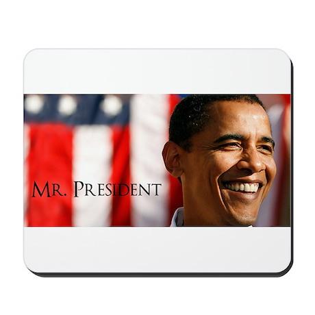 Mister President Obama Mousepad