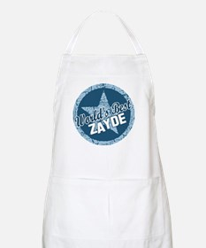 Worlds Best Zayde BBQ Apron