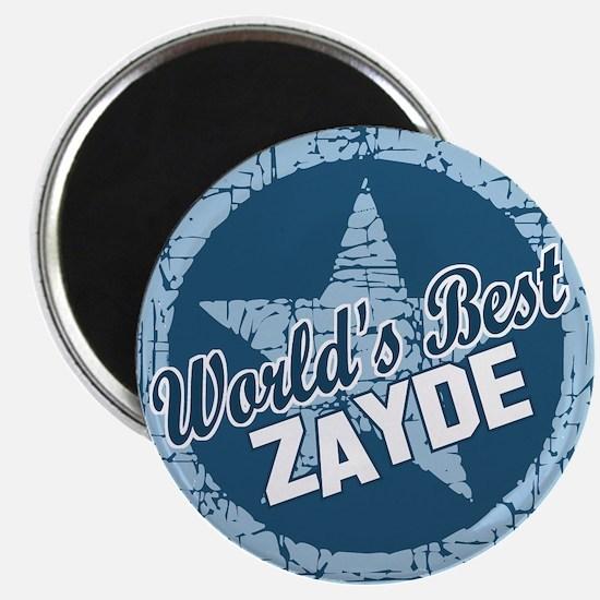 """Worlds Best Zayde 2.25"""" Magnet (10 pack)"""